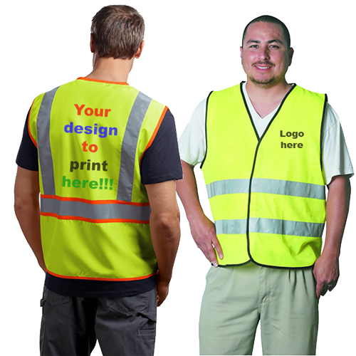safety jacket vest printing shop dubai ajman sharjah abu dhabi uae