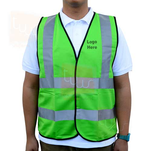 logo printing on safety vest jacket deira karama dubai ajman abu dhabi sharjah uae