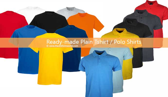 different colors polo t shirts