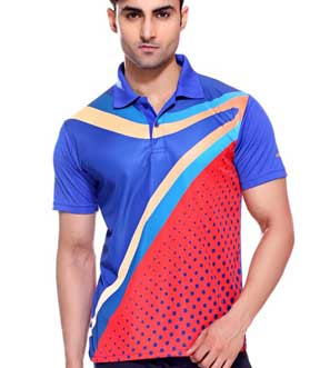 sublimated polo printing