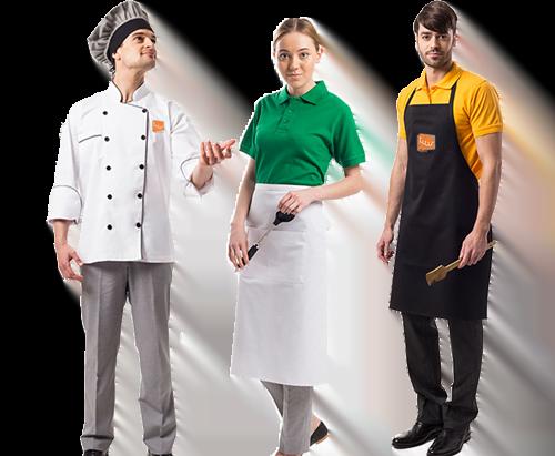 Kitchen Uniforms Supplier in Dubai UAE - Quality Workwear Manufacturer
