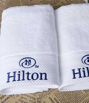 hotels towels embroidery suppliers