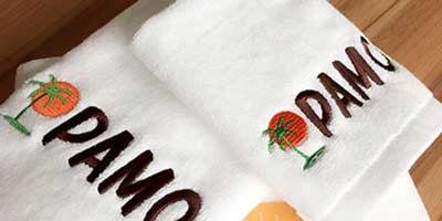 logo stitching on towels dubai sharjah abu dhabi uae