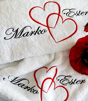 wedding-towels-embroidery-dubai-uae