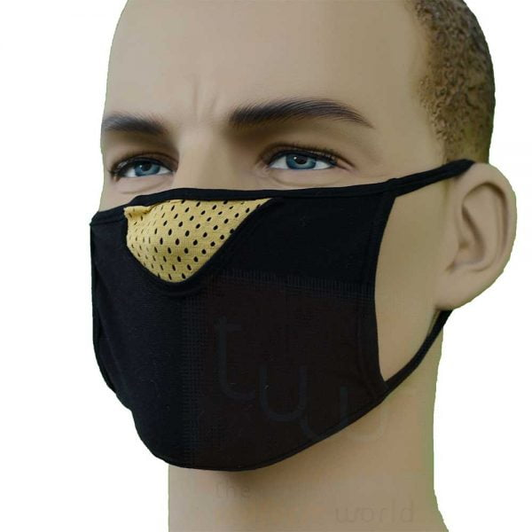 knit cottton face mask wholesale