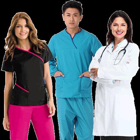 hospital clinic uniforms suppliers manufacturers tailors in dubai abu dhabi ajman sharjah uae